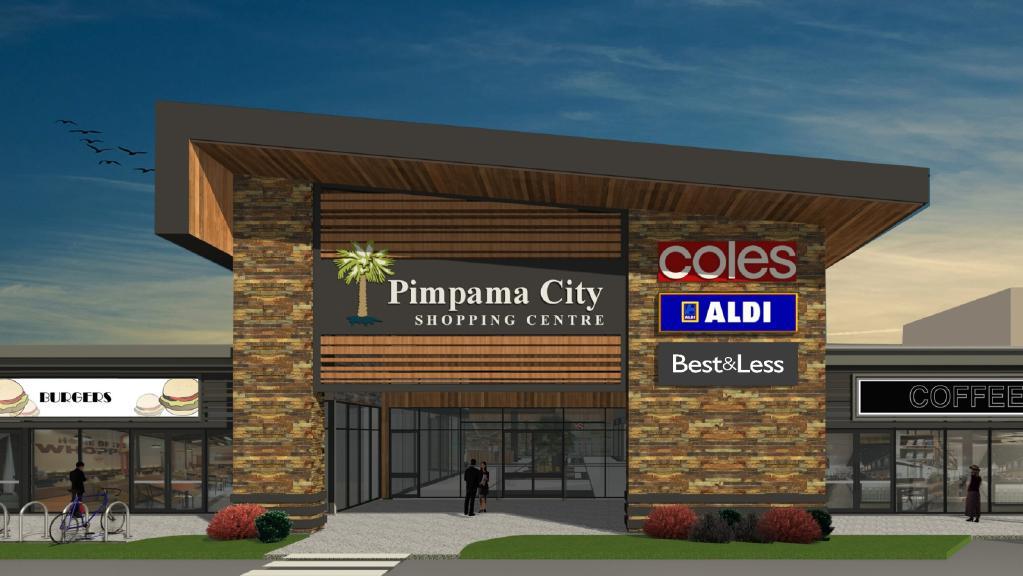 Pimpama City Shopping Centre on its way